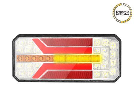Lampa stop REMORCA RULOTA SMD LED cu semnalizare dinamica 12V - 24V