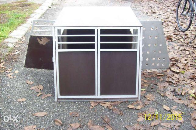 cusca casa pentru transport caine profesional din aluminiu