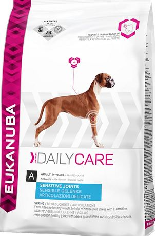 Eukanuba Sensitive Joints Daily Care 12.5кг All Breeds / Храна за Куче