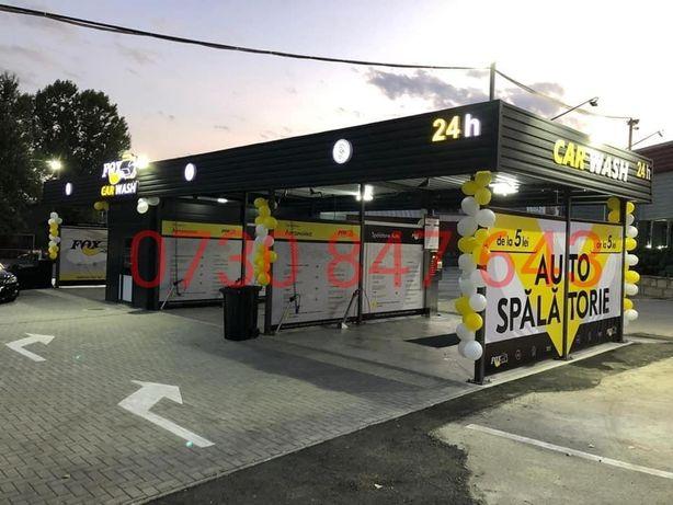 Spalatorie auto self service/ spalatorie pe jetoane/fise/monede