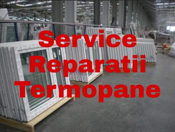 Reparatii termopane productie tamplarie pvc