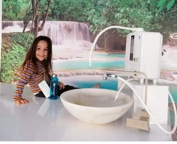 Kangen,Канген вода,японски йонизатори на питейна вода