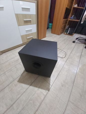 Subwoofer JBL SCS125, amplificator integrat