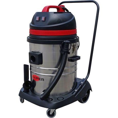 Aspirator spalatorie 3 MOTOARE - aspirator profesional praf si lichide