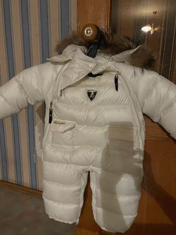Детский зимний комбез