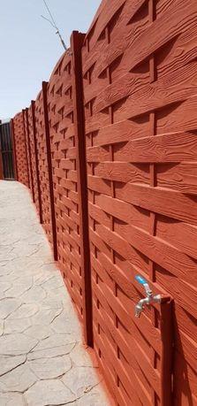 Tipare (matrițe)gard de beton lemn impletit,600 lei !