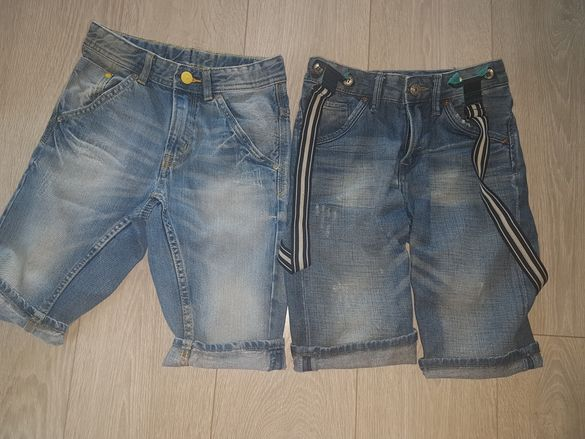 Къси дънкови панталони НМ