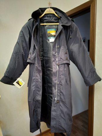 Пуховик-пальто демисезонное