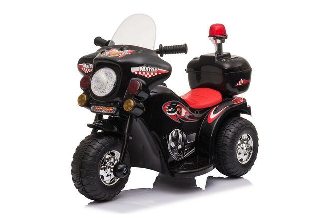 Mini Motocicleta electrica cu 3 roti BJQ991 25W STANDARD #Negru
