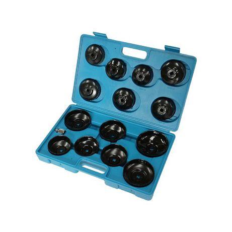 Комплект ключове за маслен филтър, 15 ч., 65-100 мм, 50037