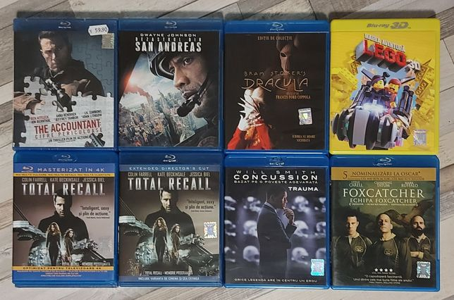 Filme blu-ray originale, romana - 24 titluri - preturi de la 20 lei