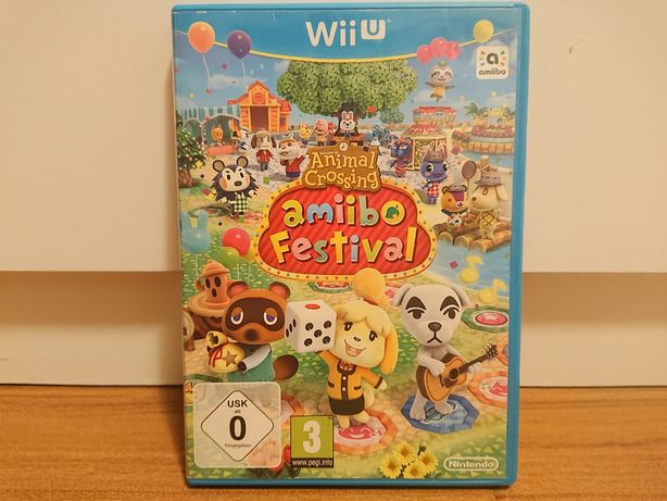 Animal Crossing Amiibo Festival - joc original Nintendo Wii U