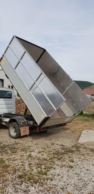 Transport materiale de balastieră, mobilă și altele