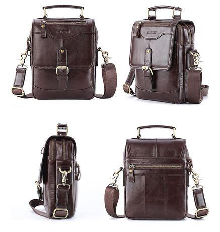 Новые, мужские кожаные сумки (5 моделей)