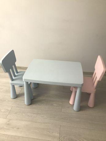Детский стол и стулья Икеа
