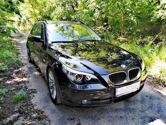BMW E61 525d 177 h.p КАТ. DPF. НАВИ, КОЖА, АВТОМАТ!