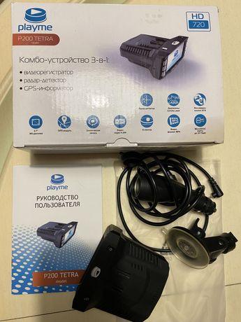3 в 1 : видеорегистратор, радар, GPS - навигатор на авто Kombo, Комбо