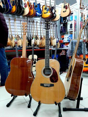 Гитара Акустическая Аgnetha 41 размер. Доставка бесплатно