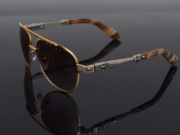 Слънчеви очила Chrome Hearts Blade hummer 2 gold