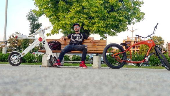 Чопър Колело Велосипед Low Rider Байк Bike Chopper Крузър Cruiser