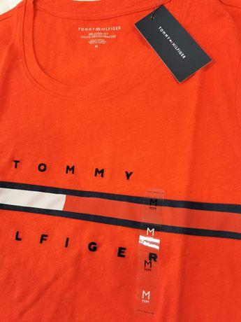 TOMMY HILFIGER - Tricouri roz / rosu