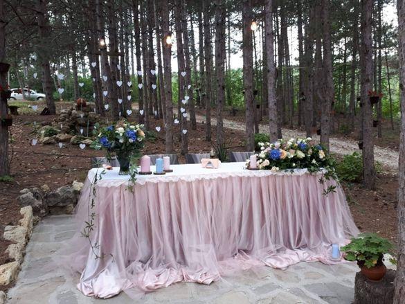 Декорация за сватба под наем