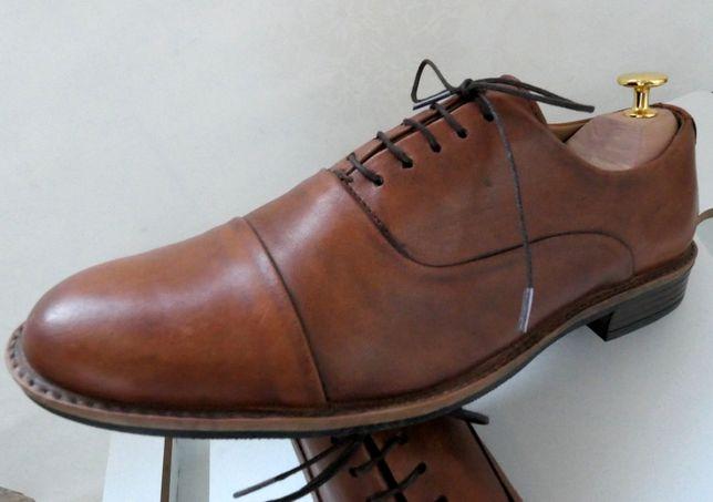 Pantofi oxford Catesby 42 piele naturala made in England