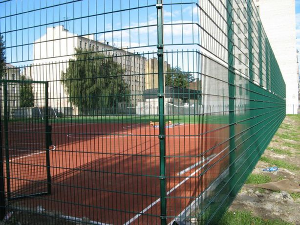 3д ограждения для спортивных площадок (забор, сетка 3D)