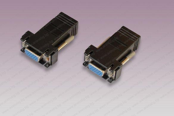 ANIMABG VGA удължител с лан кабел до 30м