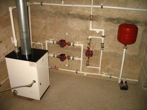 Установка,замена радиаторов,батарей, стояков,,отопления ,сантехник