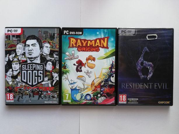 Vand Jocuri PC - Sleeping Dogs, Rayman Origins, Resident Evil 6