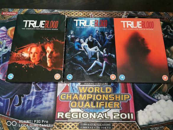DVD дискове със Сериалът Истинска кръв/True Blood