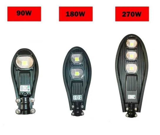 Соларна лампа LED COBRA 90W / 180W / 270W
