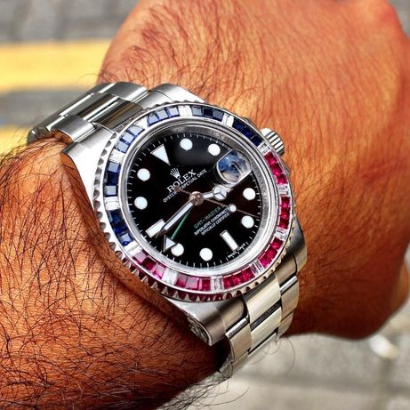 Rolex GMT Master Sapphire Ruby 116759