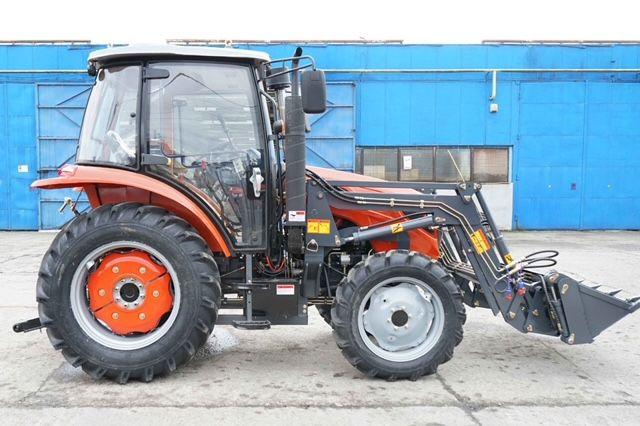 Tractor Konig 90 CP cabina si incarcator frontal, Nou, garantie 2 ani