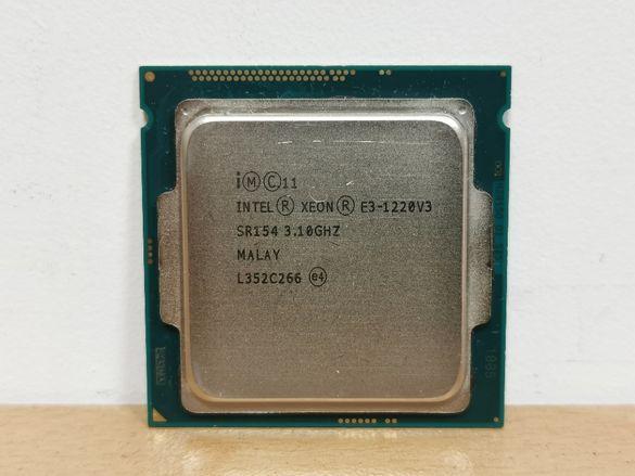 ПРОМО Intel Xeon E3-1220 V3 (като i5-4570) socket 1150 процесор