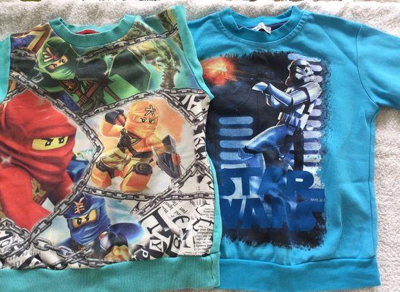Детски дънки, блузки и тениски много запазени