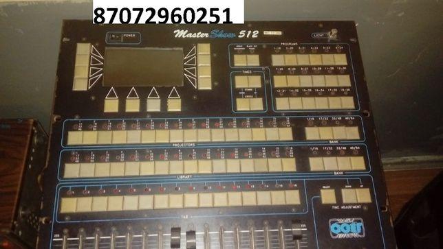 продам пульт для светомузыки Master Show 512