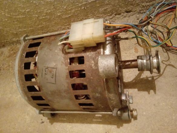 Електродвигател за пералня Indesit.Бонус-ремък и термодатчик.