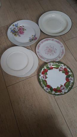 Тарелки разные