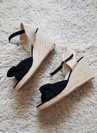 Espadrile / sandale noi,  marimea 37;