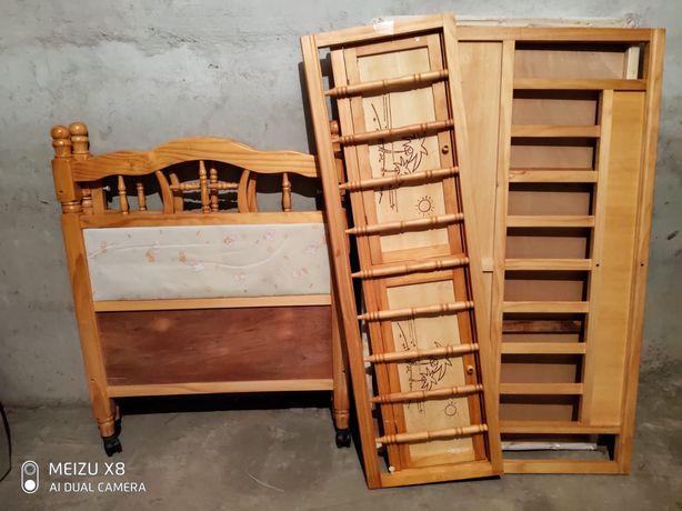 Кроватка детская деревянная 5000т