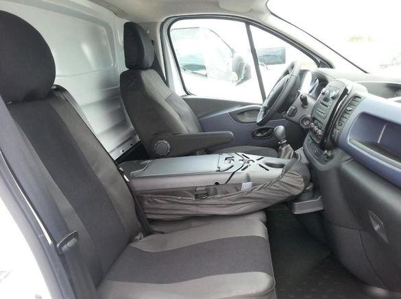 Калъфи/тапицерия за предни седалки за opel vivaro 2014+,trafic