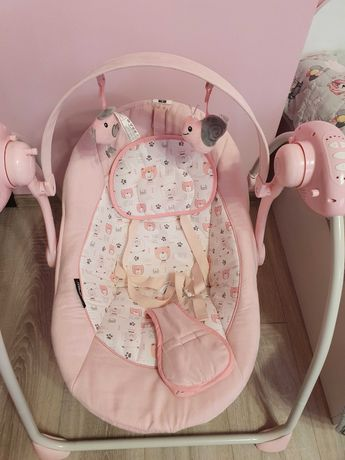 Бебешки шезлонг-люлка