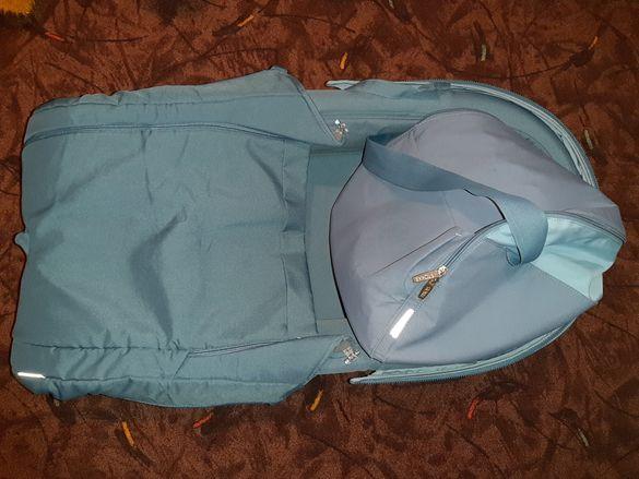 Кош за новородено Stokke и багажна чанта Stokke
