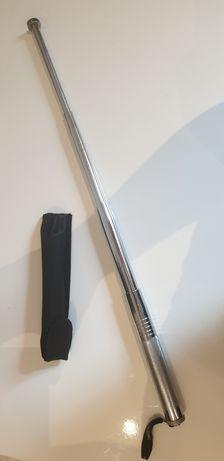 Baston telescopic 4 segmente  oțel 64 cm  autoapărare cu husa