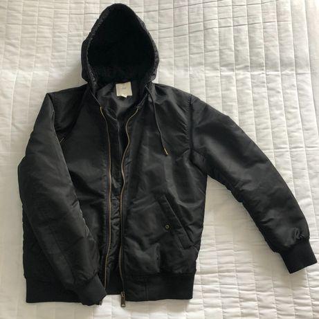 Есенно черно яке