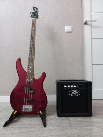Бас гитара YAMAHA TRBX174 RM Red Metallic