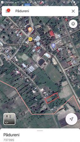 teren Pădureni de Huși Jud Vaslui cu deschidere 36mp/5000mp!!