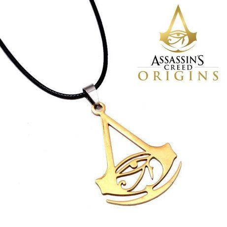 LANT pandantiv MEDALION Assassins Creed ORIGINS Logo Assassin's Creed